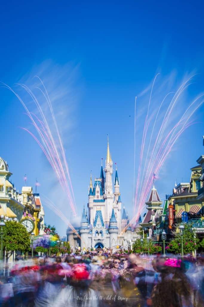 Cinderella Castle in the Magic Kingdpm
