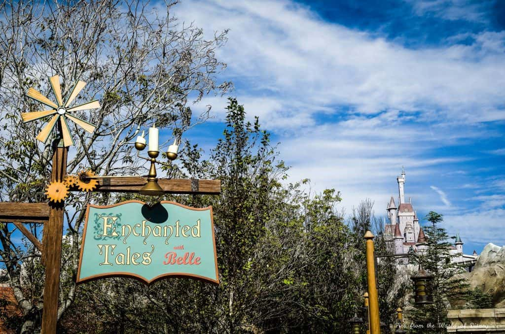 Enchanted Tales with Belle in the Magic Kingdom