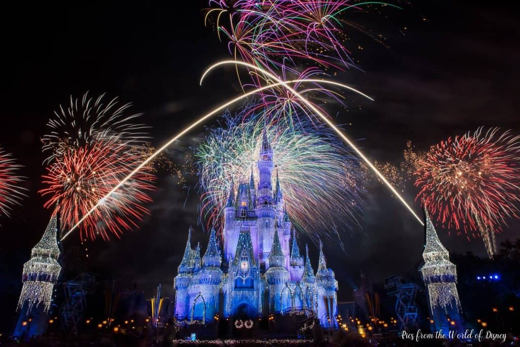 Holiday Fireworks at Disney World