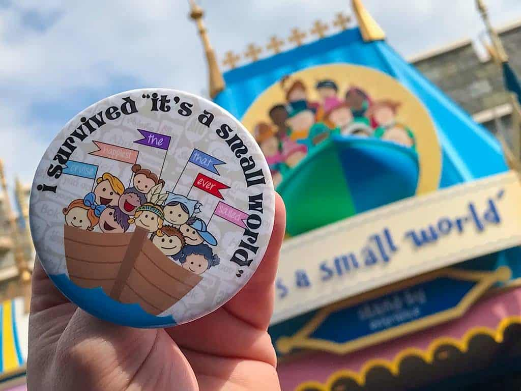 Its a Small World Attraction in the Magic Kingdom at Disney World
