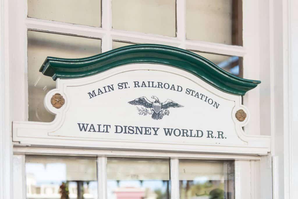 Walt Disney World Railroad Station on Main Street