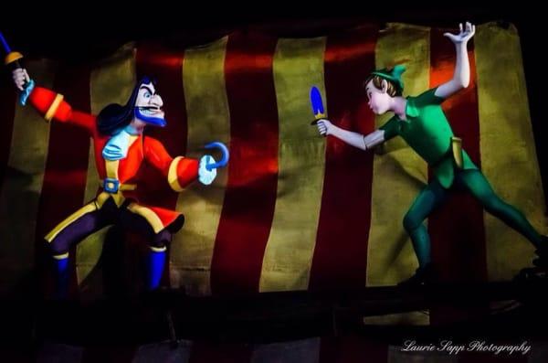 Peter Pan's Flight ride at Walt Disney World