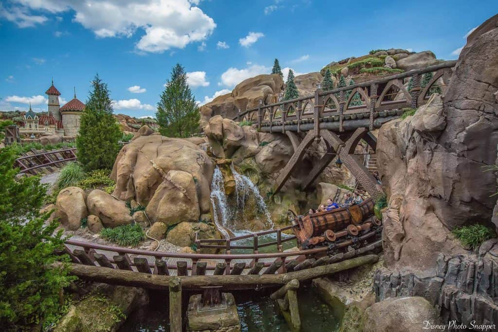 Seven Dwarves Mine Train Ride