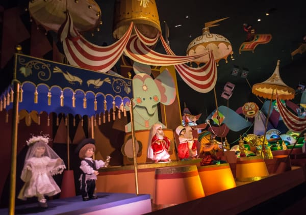 Its a Small World attraction at Disney World