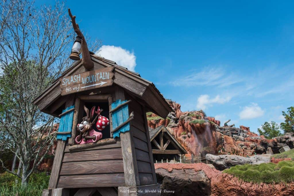Splash Mountain Ride in Disney World