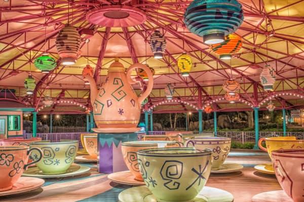 Mad Tea Cups in Disney World