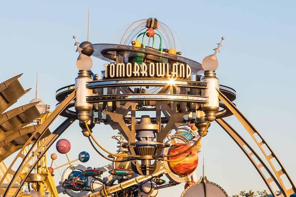 Tomorrowland in Disneys Magic Kingdom