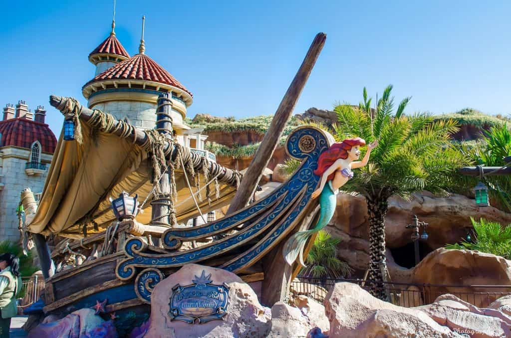 Under the Sea in the Magic Kingdom