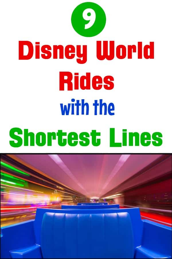 Underrated Disney World rides with Shortest Lines