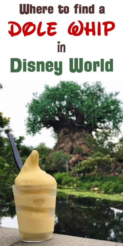 Where to find Dole Whip in Disney World