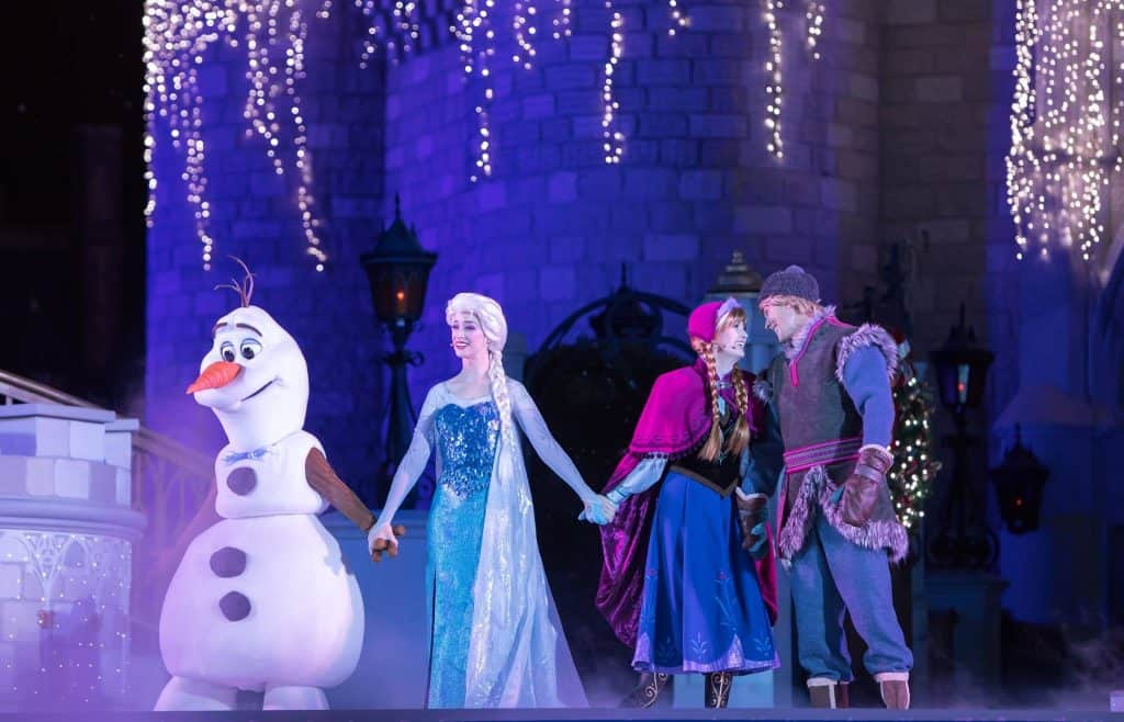 Frozen Sing Along Celebration in Hollywood Studios in Disney World
