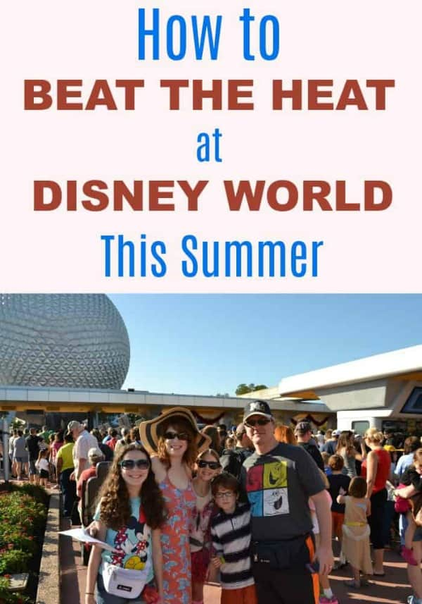 How to stay cool at Disney World this summer