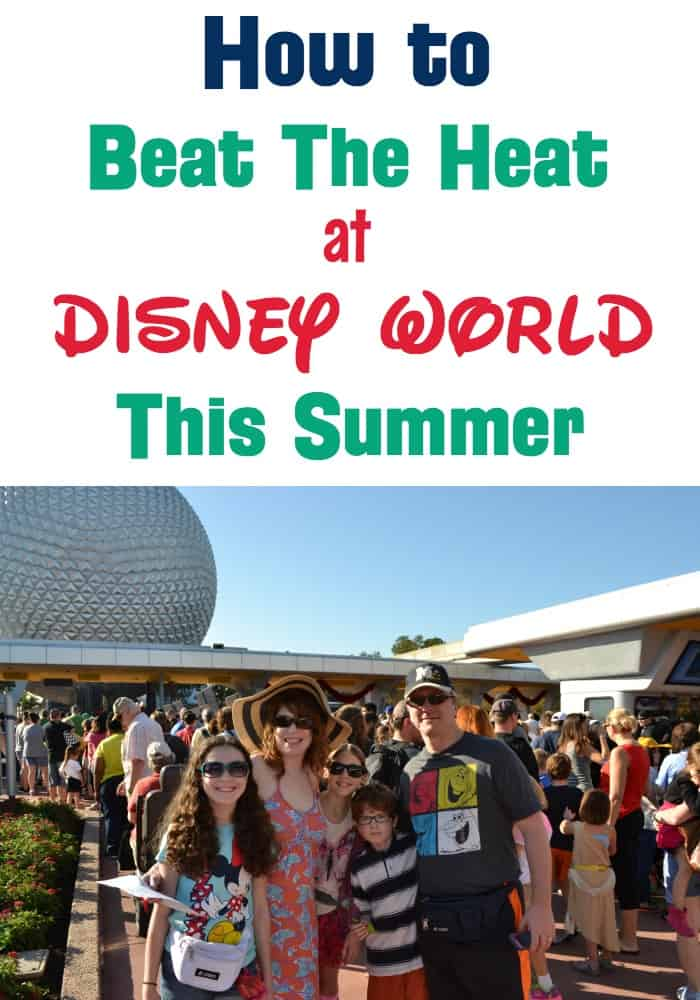 How to Beat the Heat at Walt Disney World