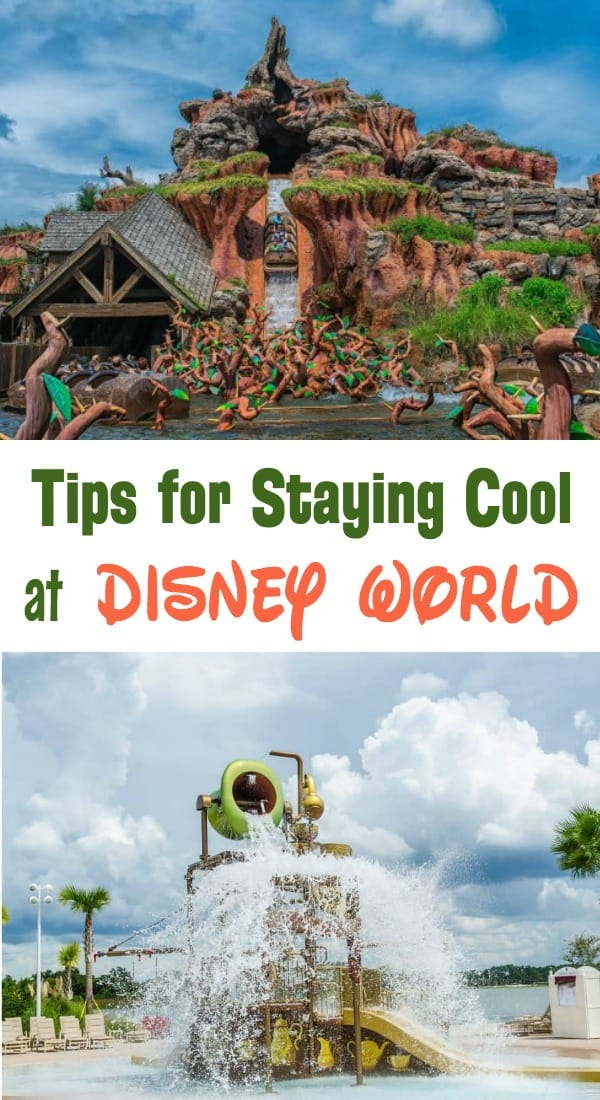 Tips Staying cool and Beat the Heat at Disney World