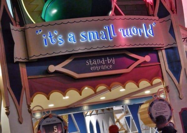 Its a Small World ride at Disney World