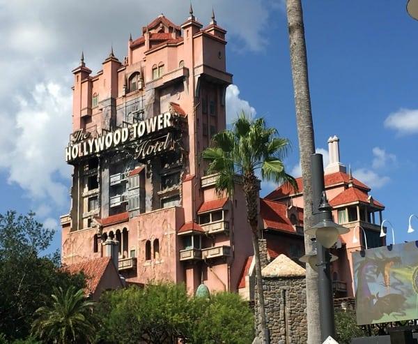 Tower of Terror in Disney World