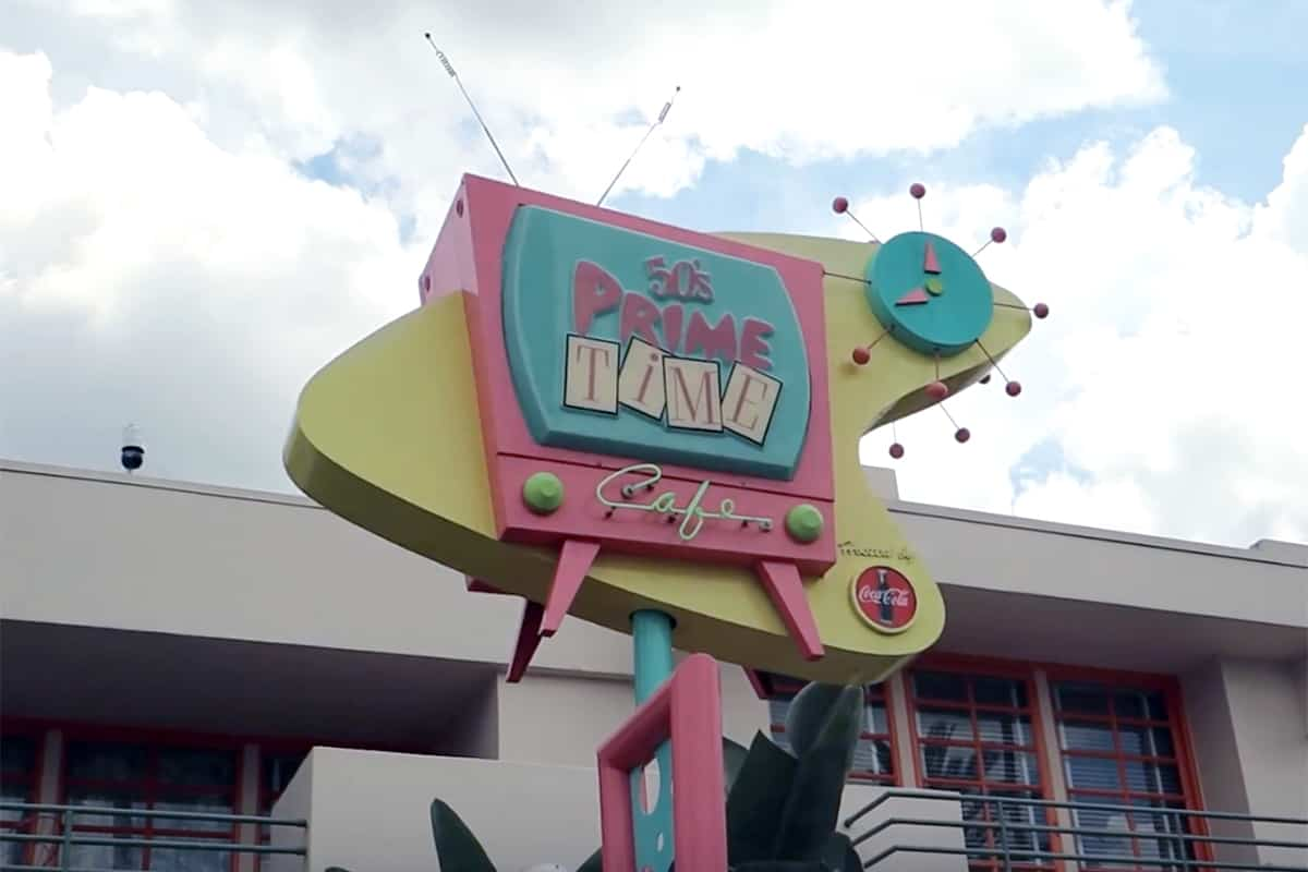 Review of 50's Prime Time Cafe in Disney's Hollywood Studios