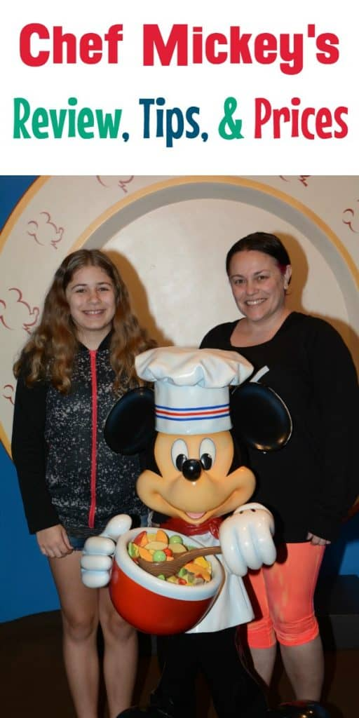 Review of Chef Mickey's at Disney's Contemporary Resort