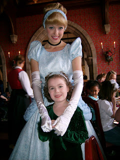 Cinderella at Akershus Banquet Hall in Epcot