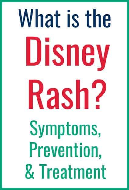 Disney Rash Treament