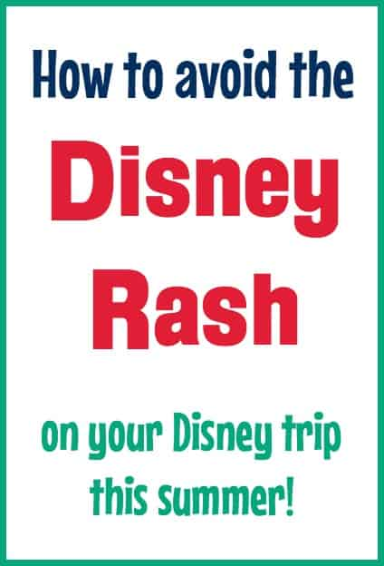 What is the Disney rash? What does the Disney rash look like? How do you treat Disney rash? Find out everything about prevention and cause