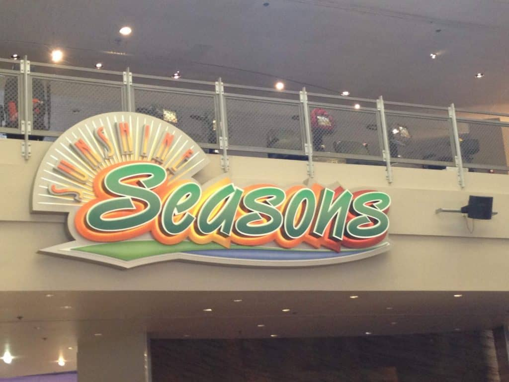 Sunshine Seasons at Epcot