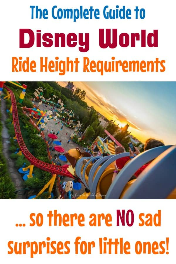 Complete Guide to Disney World ride height requirements and restrictions