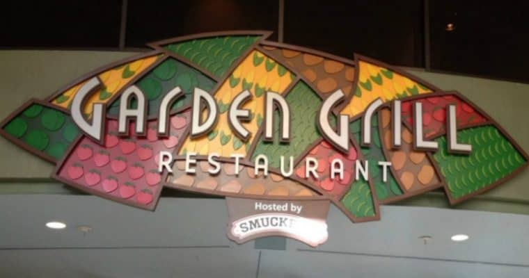 Garden Grill in Epcot: Menu, Prices, and Characters