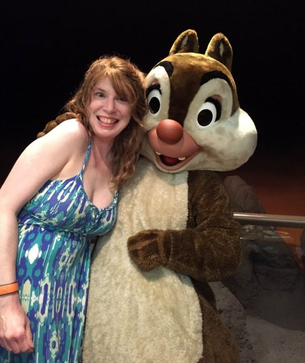 What characters are at Garden Grill? Me with Dale
