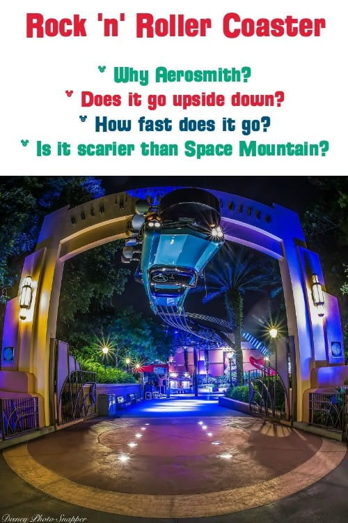 When did Rock n Roller Coaster open? Does Rock n Roller Coaster go upside down? Is it scarier than Space Mountain? Was Aerosmith the original choice? What's the Rock n Roller Coaster speed and g force? Find out everything you wanted to know about this Hollywood Studio ride!