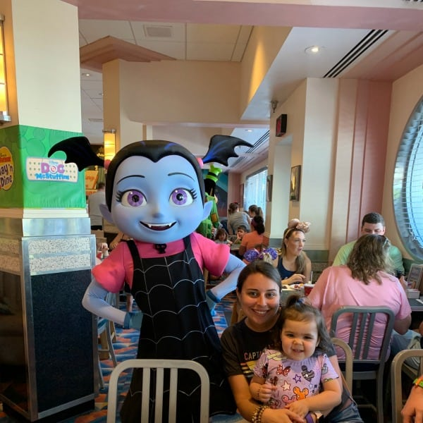 Disney Jr Play and Dine buffet character breakfast