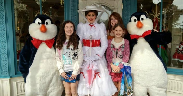 Where to Find Mary Poppins at Disney World (plus the new ride!)