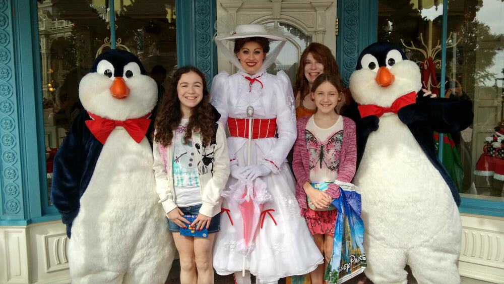 Is Mary Poppins at Disney World? (plus the new Epcot ride)