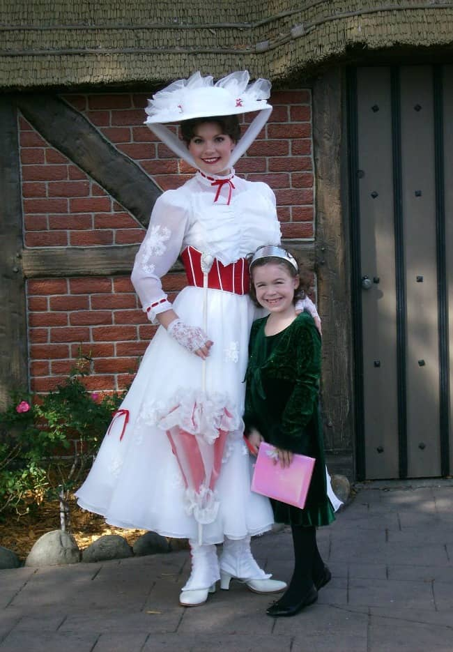 Mary Poppins at Epcot in Disney World