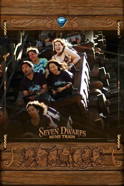Seven Dwarfs Mine Train Ride Photo