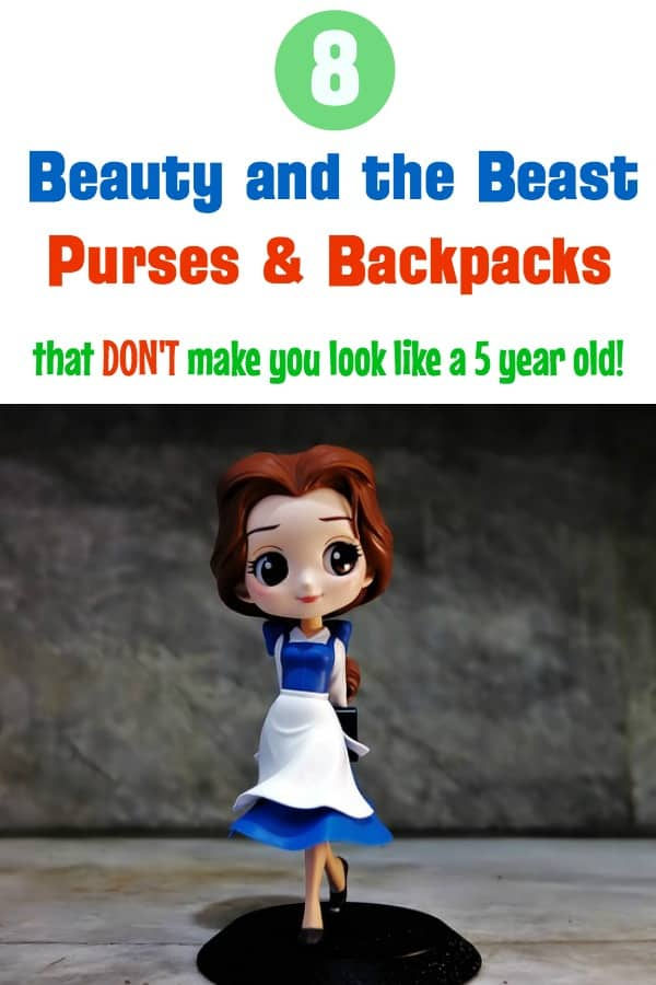 Beauty and the Beast Loungefly purses and backpacks for women