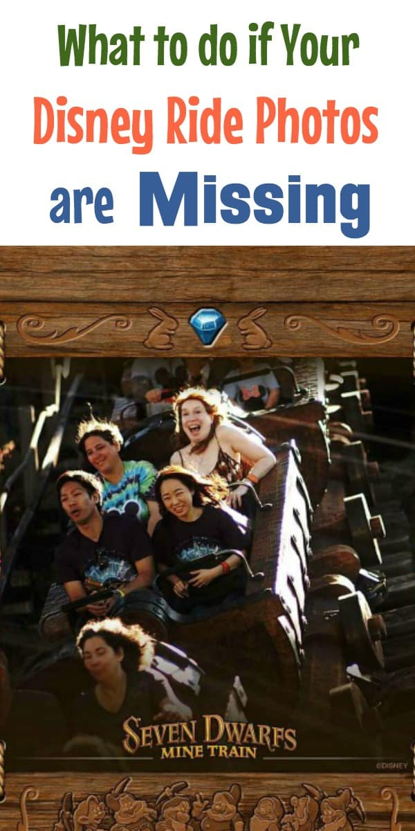 What is Disney Ride Photos are Missing when using Memory Maker