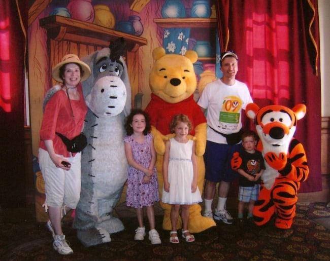 Winnie the Pooh and Friends at Walt Disney World