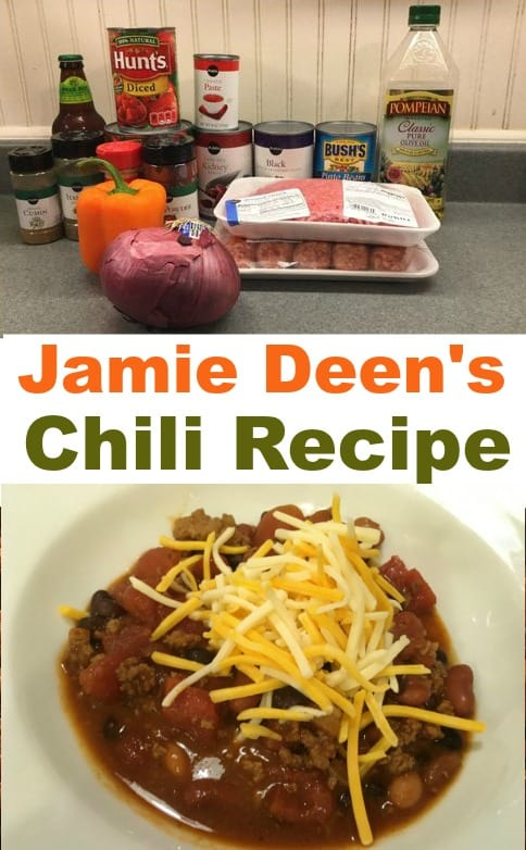 Jamie Deen's award winning Chili Recipe