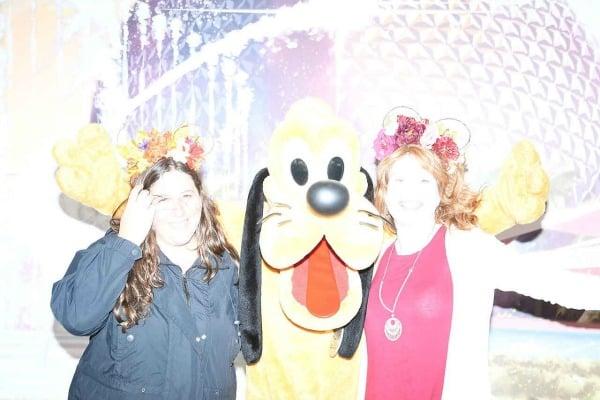 Pluto at Epcot