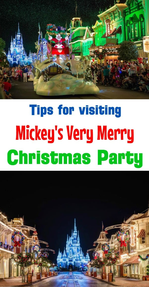 Tips for visiting Mickey's Very Merry Christmas Party in the Magic Kingdom at Disney World