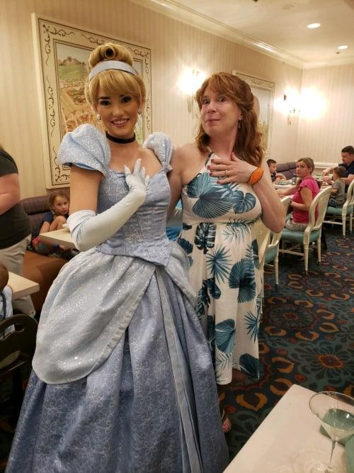 Cinderella at 1900 Park Fare at Grand Floridian Resort