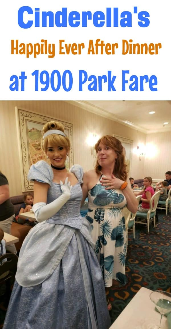 Cinderella's Happily Ever After Dinner at 1900 Park Fare in the Grand Floridian
