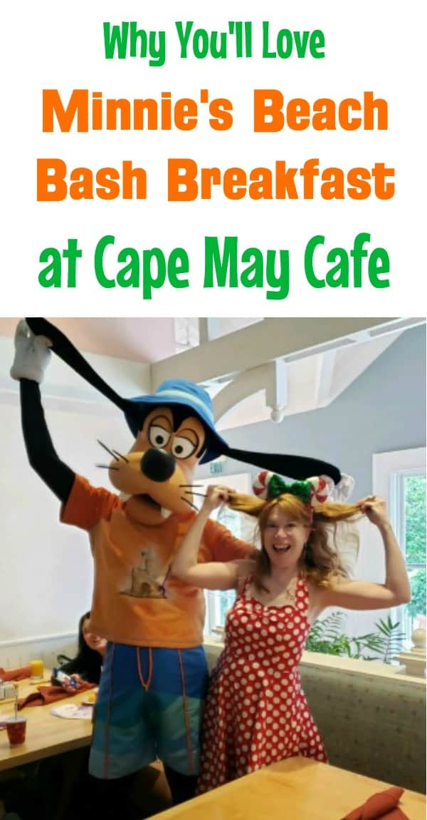 Minnie's Beach Bash Breakfast at Cape May Cafe