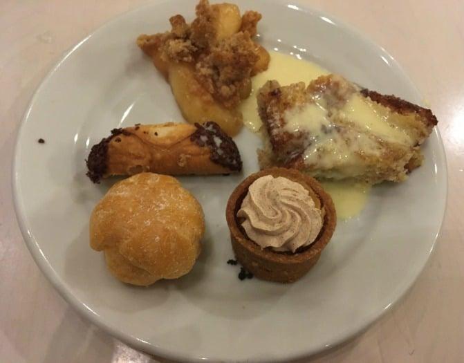 Desserts at 1900 Park Fare dinner buffet