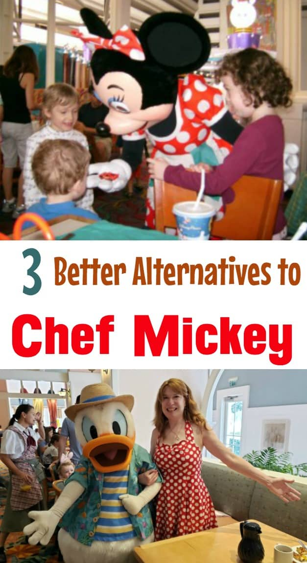 Disney character restaurants for kids that are better than Chef Mickey