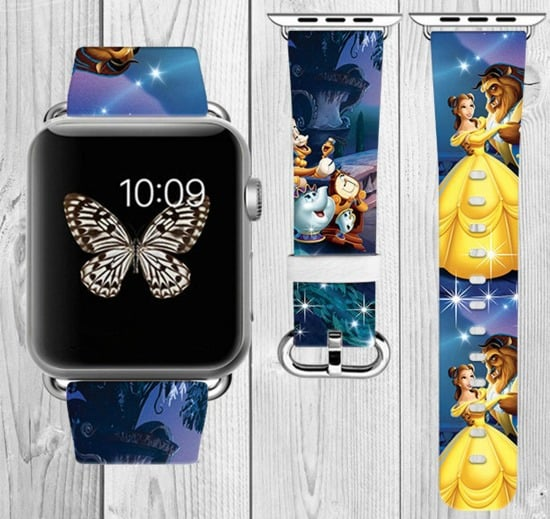 Beauty and the Beast Apple watch band on Etsy