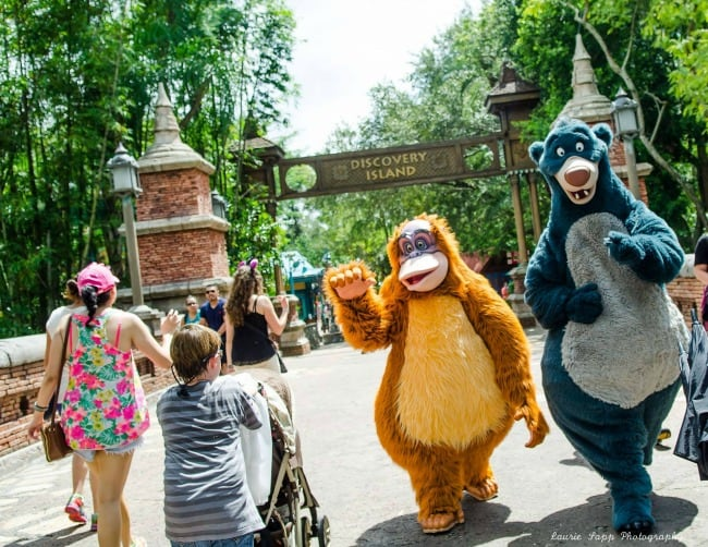 Characters at Disneys Animal Kingdom park