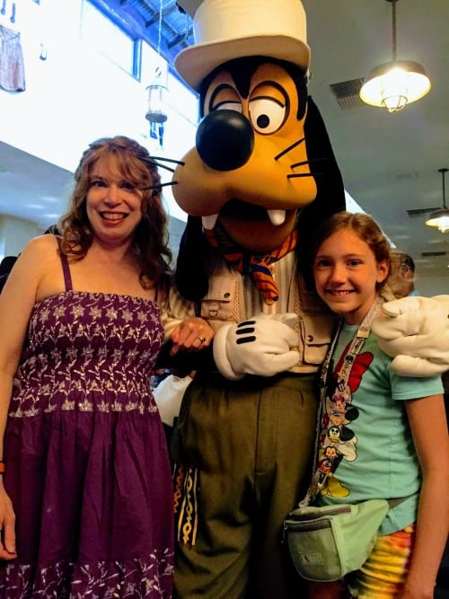 Goofy at Tusker House in Animal Kingdom