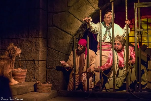Pirates of the Caribbean in Magic Kingdom